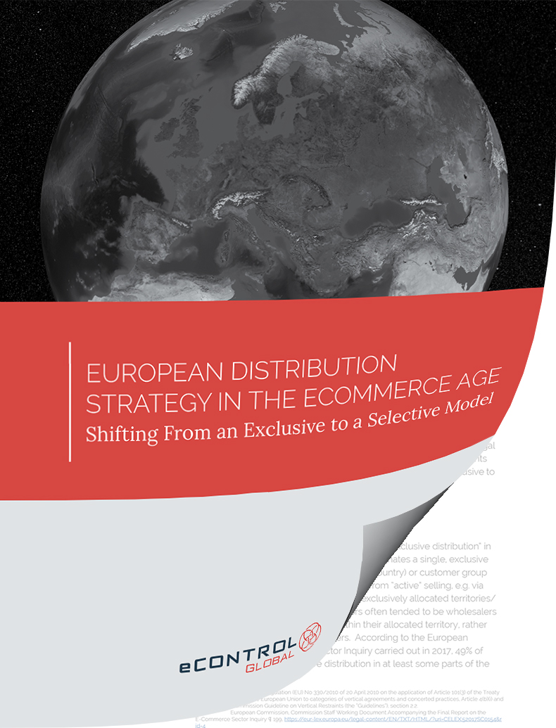 European Distribution Strategy in the eCommerce Age